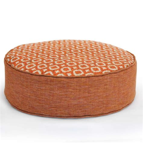 ayana tangerine  floor cushion cm hupper