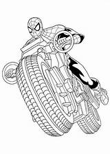 Spider Ultimate Coloring Pages Spiderman Fun sketch template