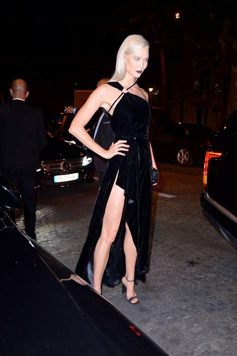 Karlie Kloss Vogue Party Paris Fashion Week