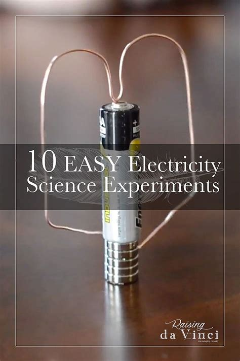 easy electricity science experiments science