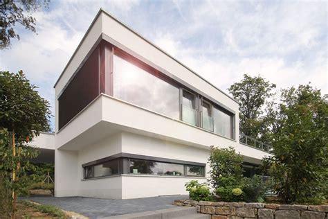 Moderne Häuser Ohne Dachüberstand by Modernes Satteldachhaus Im Taunus Bauen Architektur