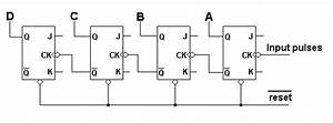 Asynchronous Down Counters Tutorial  U0026 Circuits