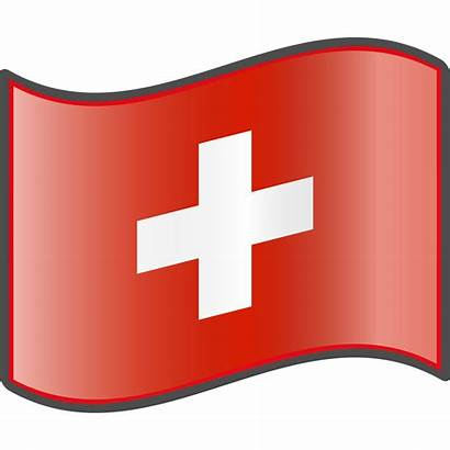 Swiss Flag Clipart Svg Nuvola Fichier Open