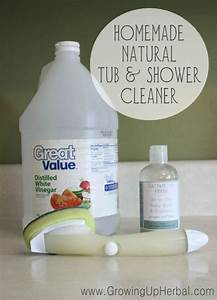 homemade natural tub shower cleaner my kids love With how to make natural bathroom cleaner