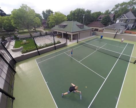 residential tennis court ideas pictures remodel  decor