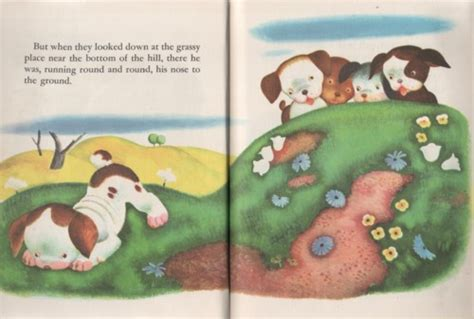 the poky little puppy book pages