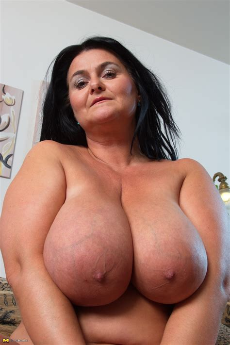 Brunette Perfect Natural Tits