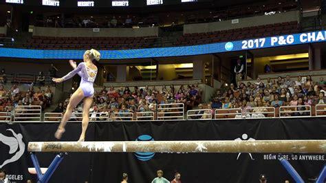 riley mccusker balance beam  pg championships