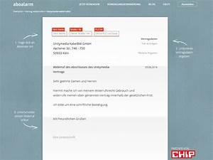 Unitymedia Online Rechnung : unitymedia widerruf vorlage download chip ~ Themetempest.com Abrechnung