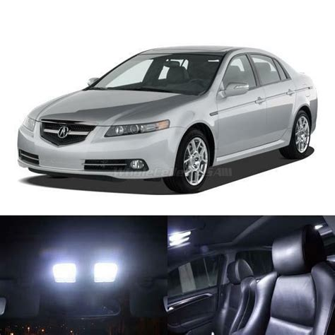 Acura Lights by 11x Interior Lights Package White Led Bulbs For 2004 2008