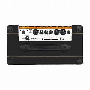 Ampli Wifi Orange : orange crush 20rt guitar combo amp black gear4music ~ Melissatoandfro.com Idées de Décoration