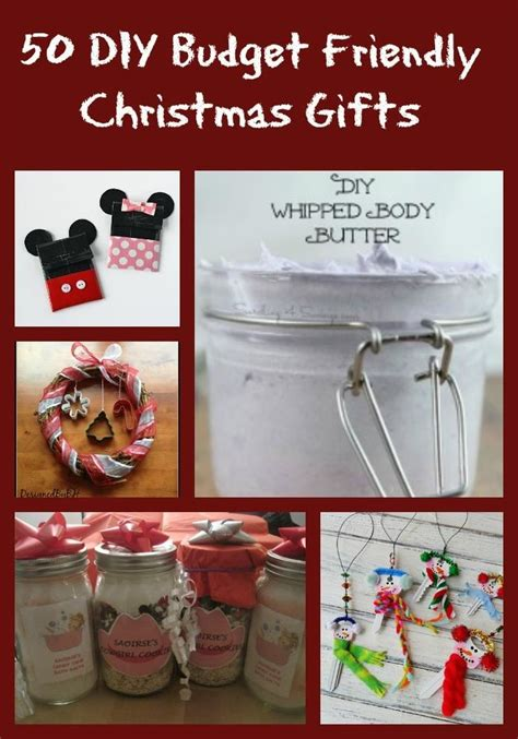 Cheap Homemade Christmas Gifts Awesome Diy Christmas