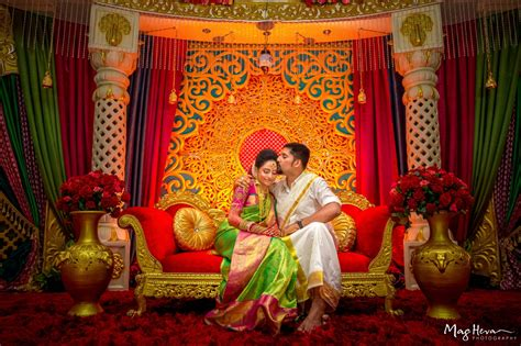 vibrant tamil wedding in malaysia with the gorgeous bride