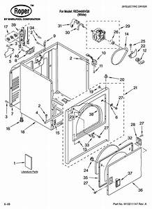 29 Roper Dryer Parts Diagram