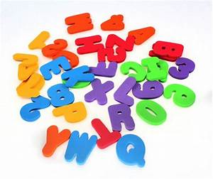 36 pieces diy numbers alphabet letters baby shower bath With learning numbers and letters toys