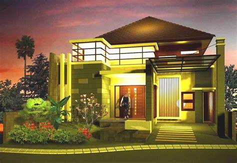 gambar desain rumah minimalis mewah modern
