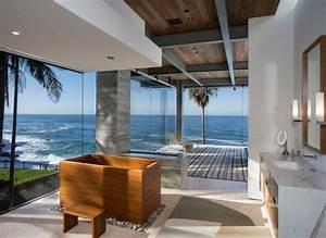 La salle de bain deco zen d39inspiration japonaise for Salle de bain design avec décoration d intérieur zen