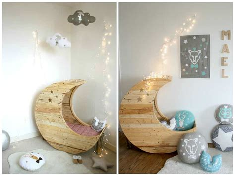 moon cradle    wooden pallets pallet ideas