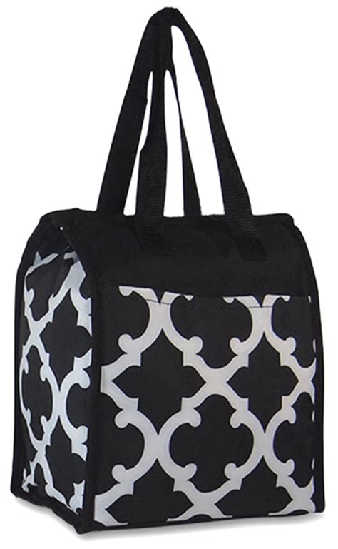 insulated lunch tote walmart 39 s lunch bag insulated monogram 6 colors