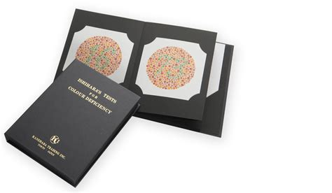 Ishihara Color Vision Test Book