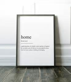 home interior prints home definition print wall prints quote print wall