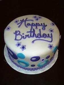Purple birthday Cake by see-through-silence on DeviantArt