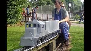 5 Inch Gauge American Sd70ace Diesel Locomotive Under Test