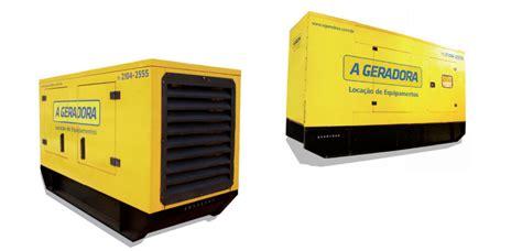 gerador de energia de 55 a 150 kva para loca 231 227 o a geradora