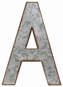 metal alphabet wall decor letter a industrial wall With metal alphabet letters for wall