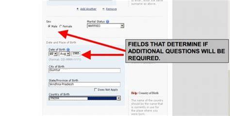 us visa application ds160