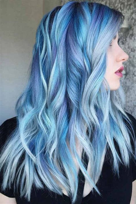 Best 25 Pastel Blue Hair Ideas On Pinterest Pastel Hair