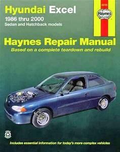 Hyundai Excel 1986 2000 Haynes Service Repair Manual