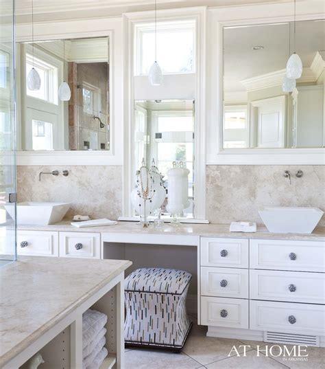 Spa Bathroom Vanity by Excellent Bathroom Vanity With Makeup Station Layout