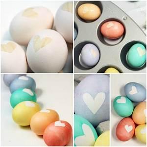 Gekochte Eier Dekorieren : 1001 ideen f r ostereier bemalen f r einzigartige osterdeko ~ Markanthonyermac.com Haus und Dekorationen