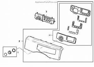 Parts For Samsung Dv210aew  Xaa  Control Panel Parts