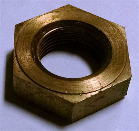 arbor nut left hand thread hermance