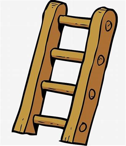 Ladder Stairs Cartoon Background Vector Doodle Clipart