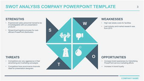 swot analysis template ppt free business swot analysis powerpoint templates
