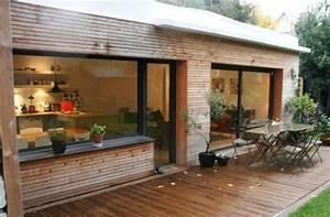 extension bardage bois architecture pinterest With maison de la fenetre 3 construction maison bois finistere