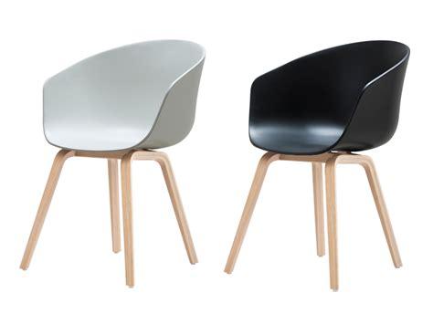 chaise blanche pied en bois hd home design aac22 pieds chêne lot de 2 chaises hay