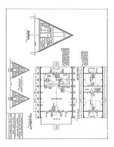 a frame cabin floor plans free a frame cabin plans blueprints construction documents sds plans