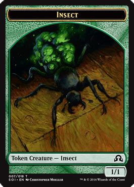 mtg insect deck 2015 shadows innistrad tokens