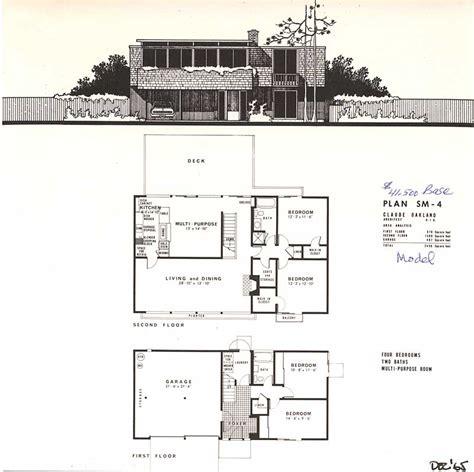 house plans for narrow lots eichler brochures yorktown