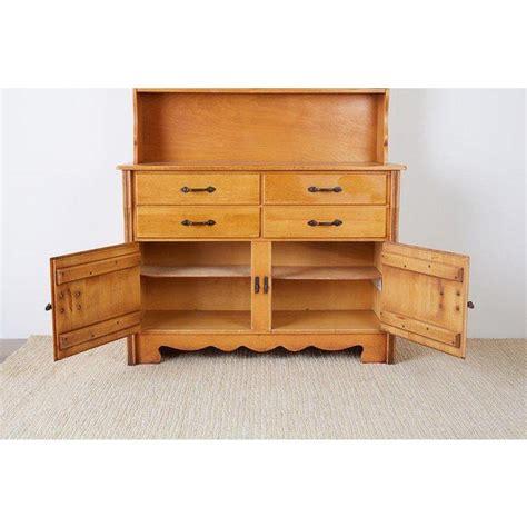 california rancho monterey cupboard cabinet  frank mason chairish