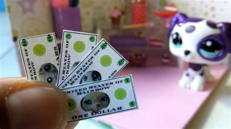 money   dolls lps doll diy dollhouse