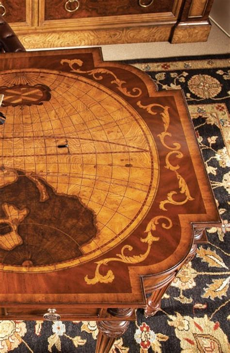 maitland smith map desk 16 best images about wood inlay ideas on