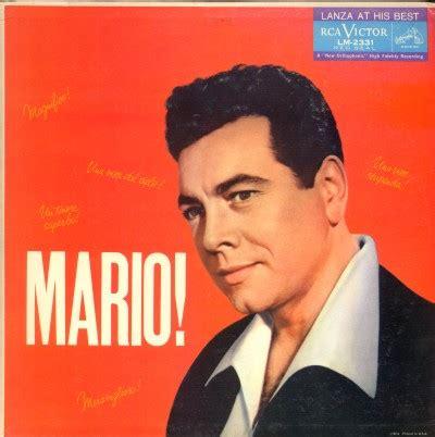 Mario Lanza Albums