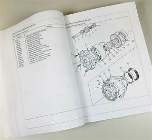 Ford 555b Tractor Loader Backhoe Master Parts Manual