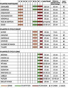 Calendrier Lunaire Potager : les annuelles calendrier de semis et de floraison ~ Melissatoandfro.com Idées de Décoration