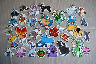 Pokemon Stickers Sticker Project Pack Batch Single